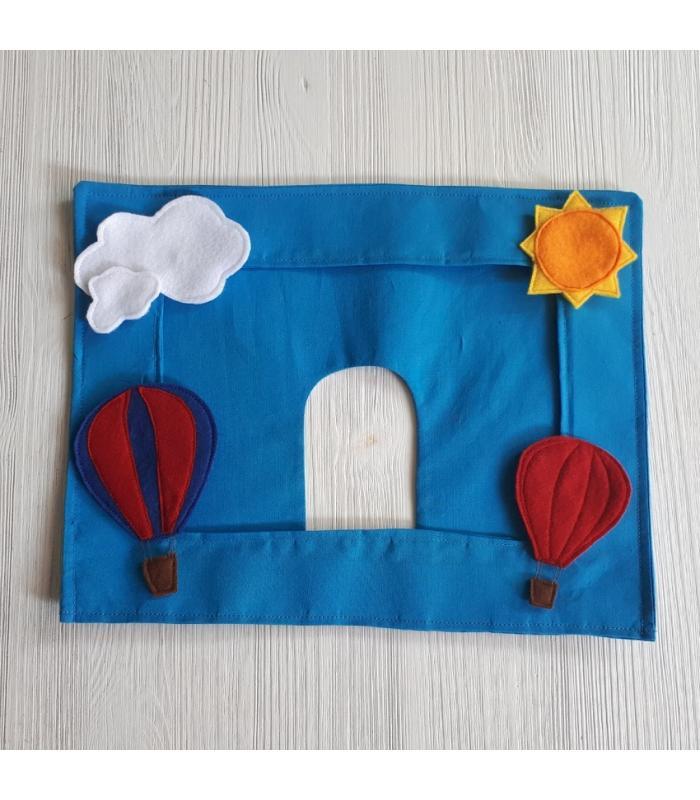 Autospiegelhoes Luchtballon