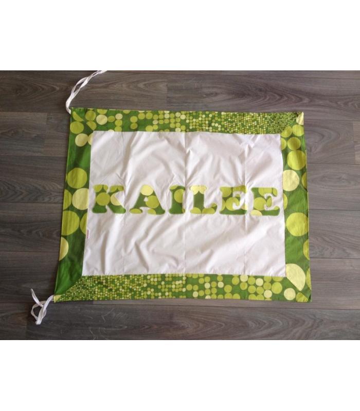 Geboortevlag Stip groen Kailee