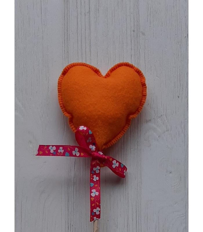 Hart stok Oranje 1