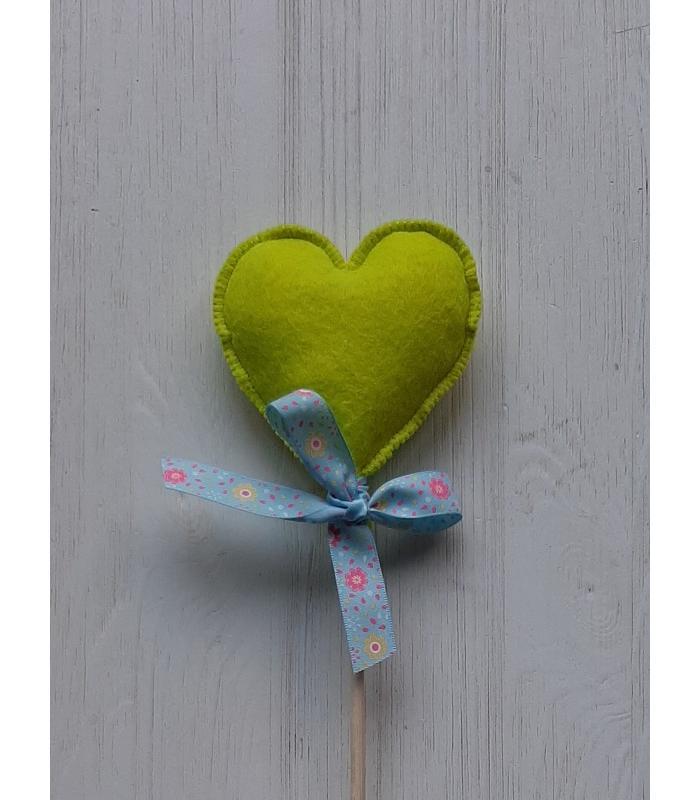 Hart stok Lime Groen 1