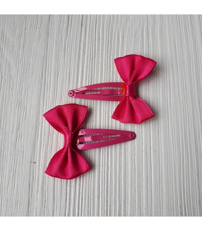 Haarknipjes Strik Roze