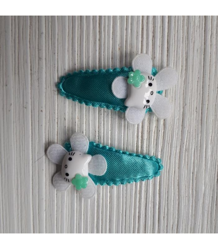 Haarknipjes Hello Kitty Mint