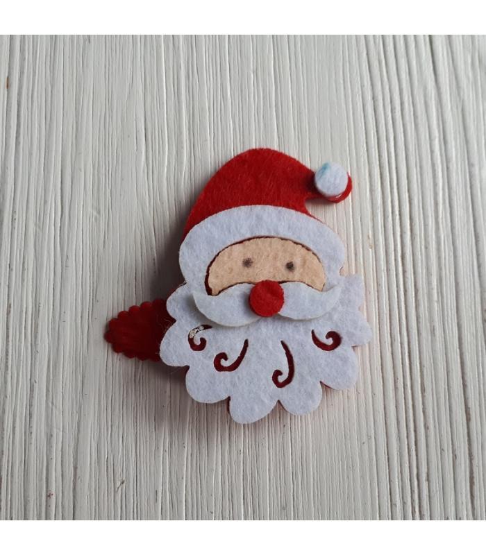 Haarknipje Kerstman rood