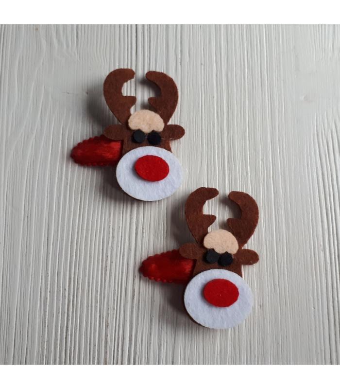 Haarknipjes Eland rood