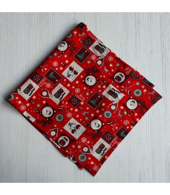 Tafelloper Kerst rood