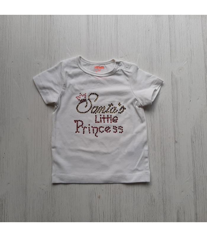 T-shirt Hotfix Santa's little princess