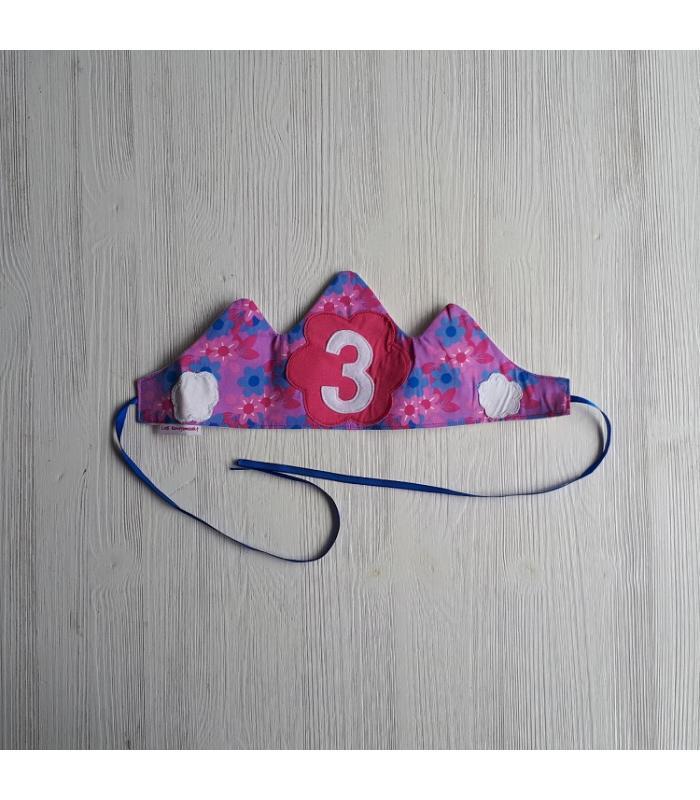 Verjaardagskroon 3 Bloem