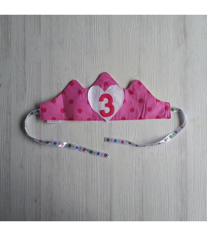 Verjaardagskroon 3 Hart