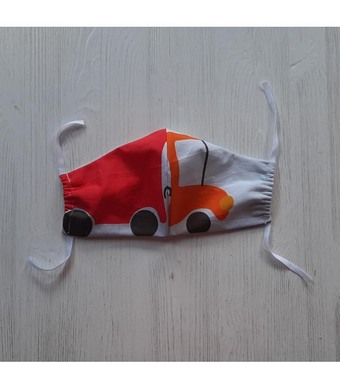 Mondkapje Man Vrachtwagen 1