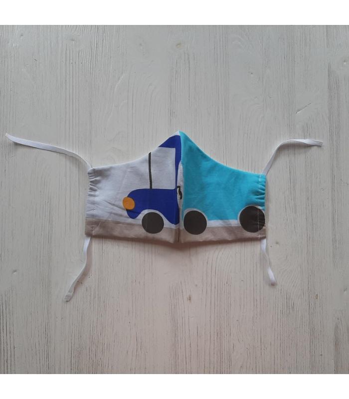 Mondkapje Man Vrachtwagen 2