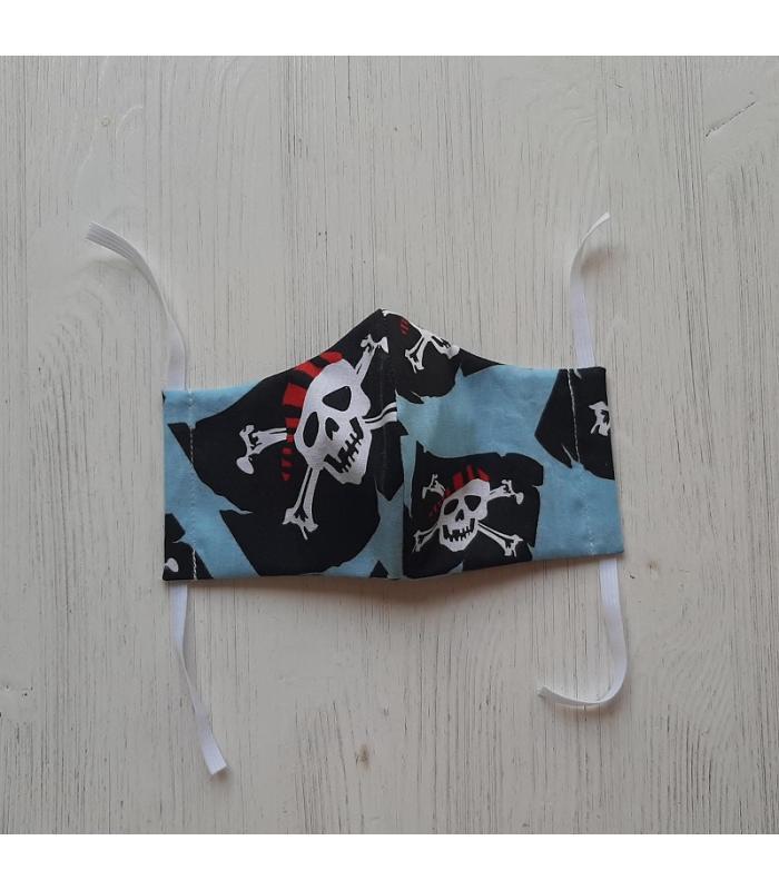 Mondkapje Klein Kind Piraat