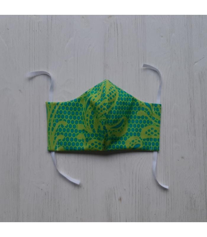 Mondkapje Vrouw Blad Groen 2
