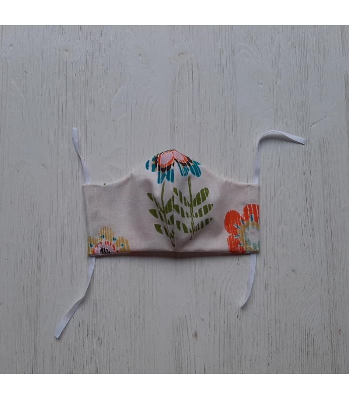 Mondkapje Vrouw Bloemen 2