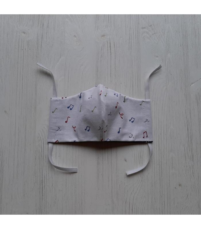 Mondkapje Klein Kind Muzieknoot 1