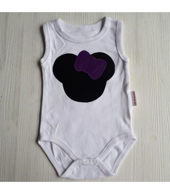 Romper Minnie Mouse paars