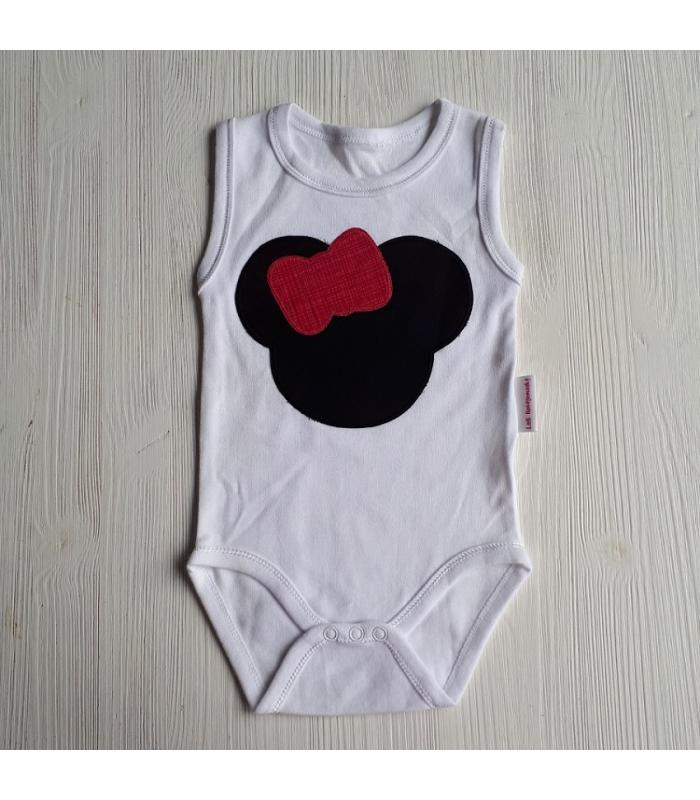 Romper Minnie Mouse roze