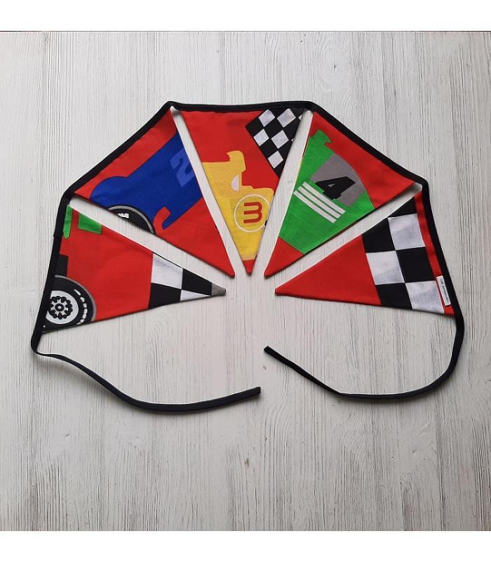 Vlaggetjeslijn Formule 1 punt