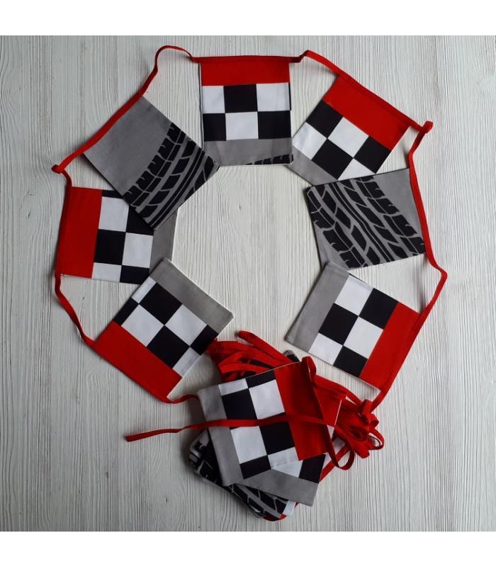 Vlaggetjes Formule 1 vierkant