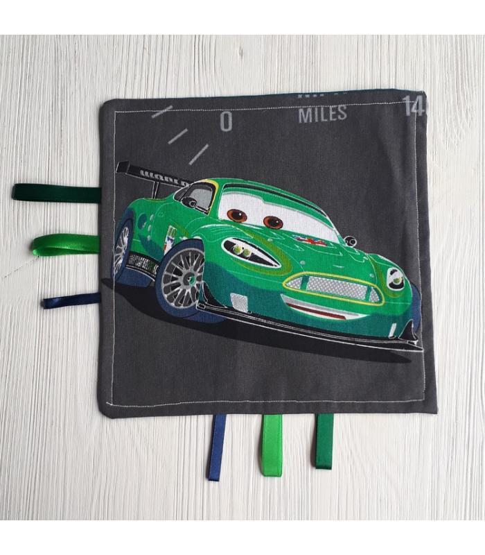 Tutteldoek Auto groen