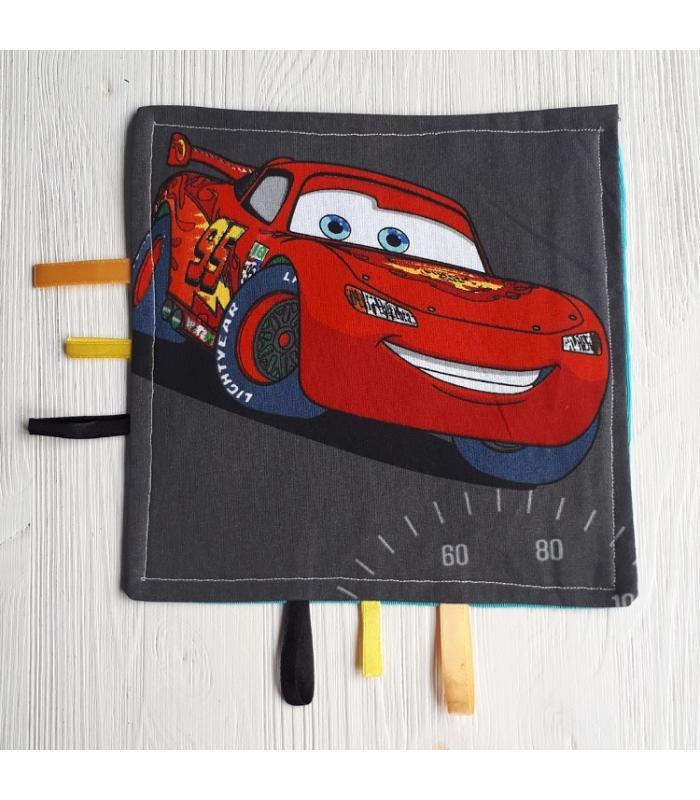 Tutteldoek Auto rood
