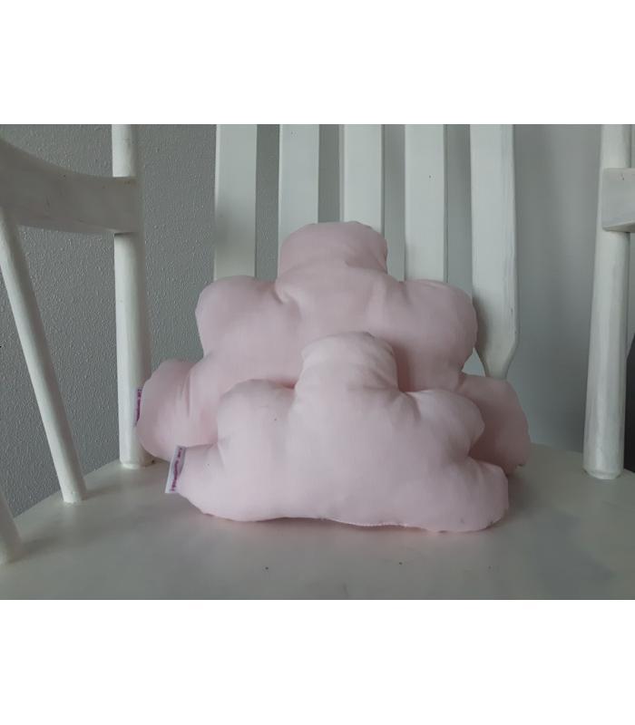 Wolkenkussen set Licht roze