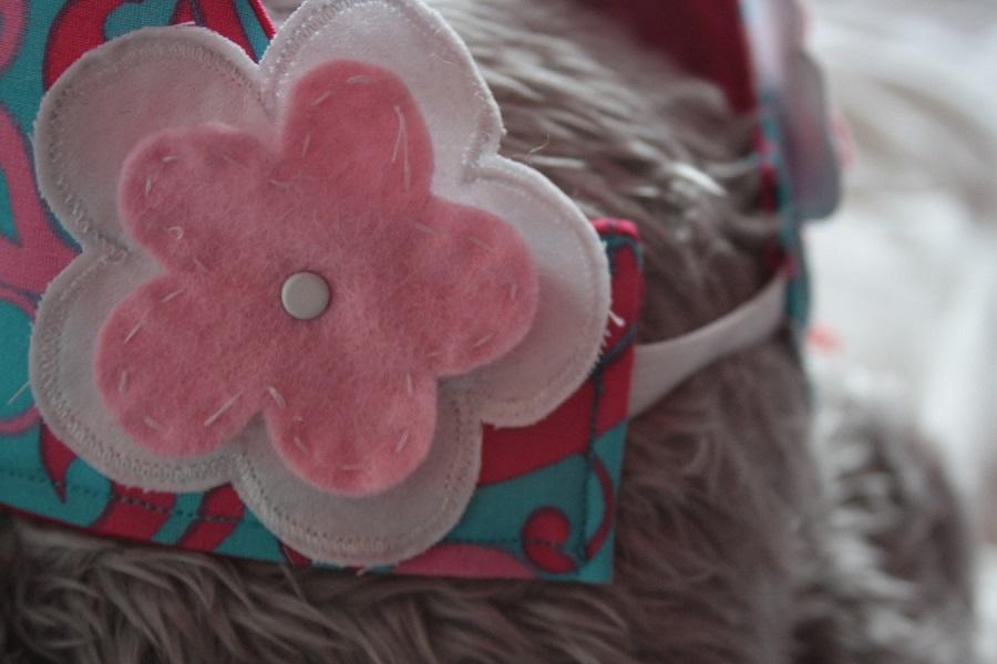 Amersfoort handgemaakt feest decoratie deco stof katoen lint applicatie vilt - Deco kamer kind gemengd ...